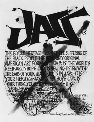 Jazz: This Is Your Heritage, offset poster. c. 1965