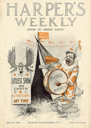 "C.J. (Charles Jay) Budd, ""Littlest Show on Earth,"" Harper's Weekly, July 27, 1912"