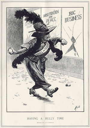 "Edward W. Kemble, ""Having a Bully Time,"" Harper's Weekly, March 30, 1912"