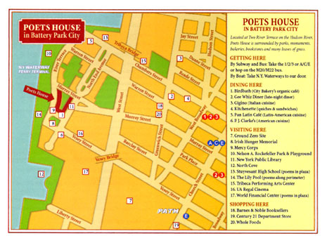 Poets House Map by Ephemera Press