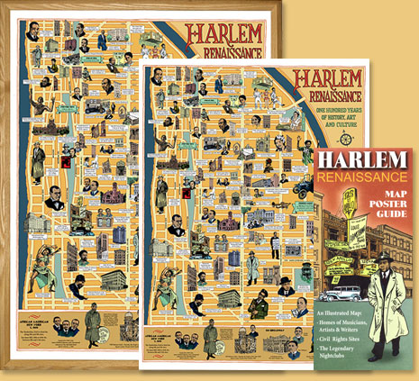 The Harlem Renaissance Map